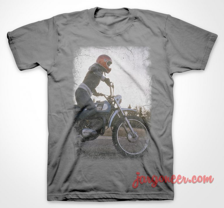 175 Enduro Gray T-Shirt