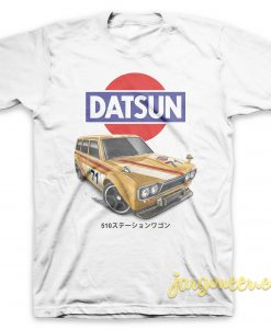510 Wagon White T-Shirt