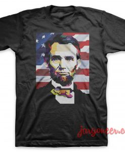 Abe Lincoln Black T-Shirt
