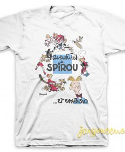 Adventure De Spirou Et Fantasio T-Shirt