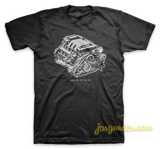 Audi A5 V6 FSI T-Shirt