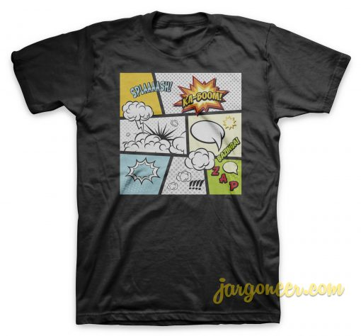 Comic Book Exclamations T-Shirt