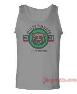 Dirty Heads California Unisex Adult Tank Top