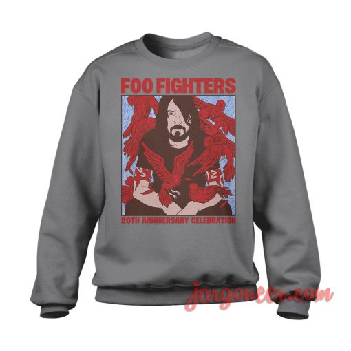 Foo Fighters 20th Anniversary Celebration Sweatshirt