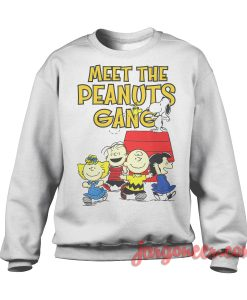 Meet The Peanuts Gang Sweatshirt