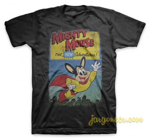 Mighty Mouse - The New Adventure T-Shirt