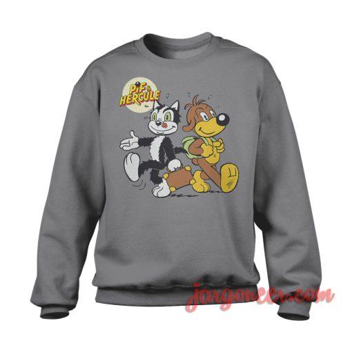 Pif And Hercule Travelling Sweatshirt