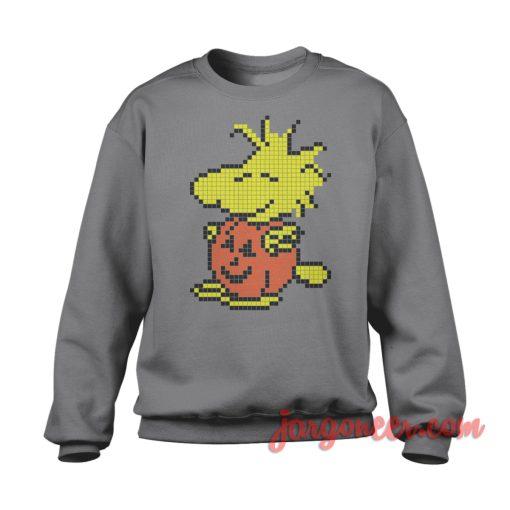 Pumpkin Pixel Woodstock Sweatshirt