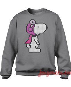 Snoopy - Pixel Pilot Sweatshirt