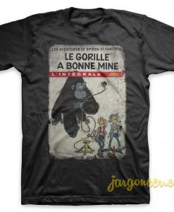 Spirou - Gorilla Looks Good T-Shirt