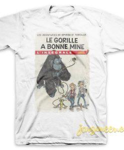 Spirou Gorilla Looks Good T Shirt