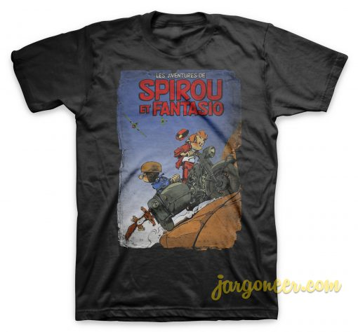 Spirou Les Adventure De Spirou Et Fantasio T Shirt