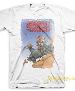 Spirou - Les Adventure De Spirou Et Fantasio T-Shirt