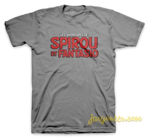 Spirou et Fantasio Logo T Shirt