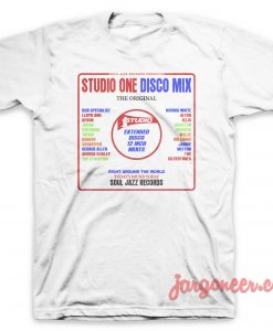 Studio One Disco Mix T-Shirt