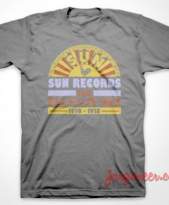 The Blues Years Of Sun T-Shirt