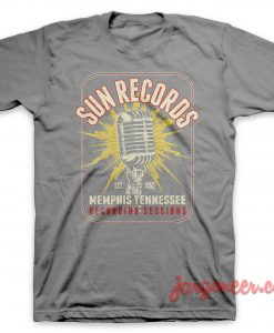 Sun Records – The Microphone Of Memphis T-Shirt