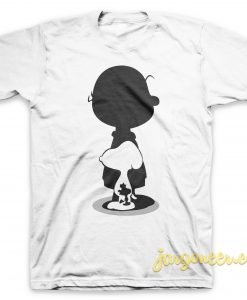 The Peanuts Silhouette T Shirt