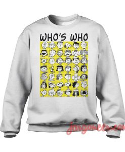 The Peanuts - Who's Who Sweatshirt