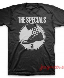 The Special – Circle Shoe T-Shirt