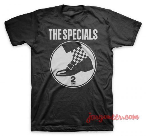The Special - Circle Shoe Black T-Shirt