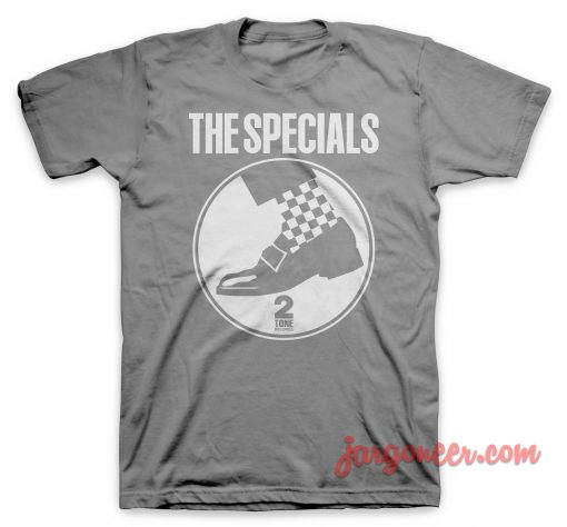 The Special - Circle Shoe Gray T-Shirt