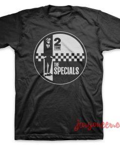 The Specials Circle 2 Tone T Shirt