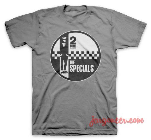 The Specials - Circle 2 Tone Gray T-Shirt