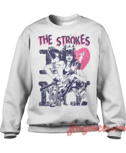 The Strokes - I Love NY Sweatshirt