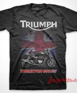 Thruxton 900 Black T Shirt
