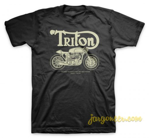 Triton Caferacer 1960 1970 T Shirt