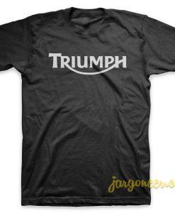 Triumph Logo Black T-Shirt