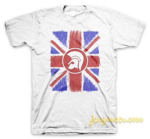 Union Jack Scratch T Shirt
