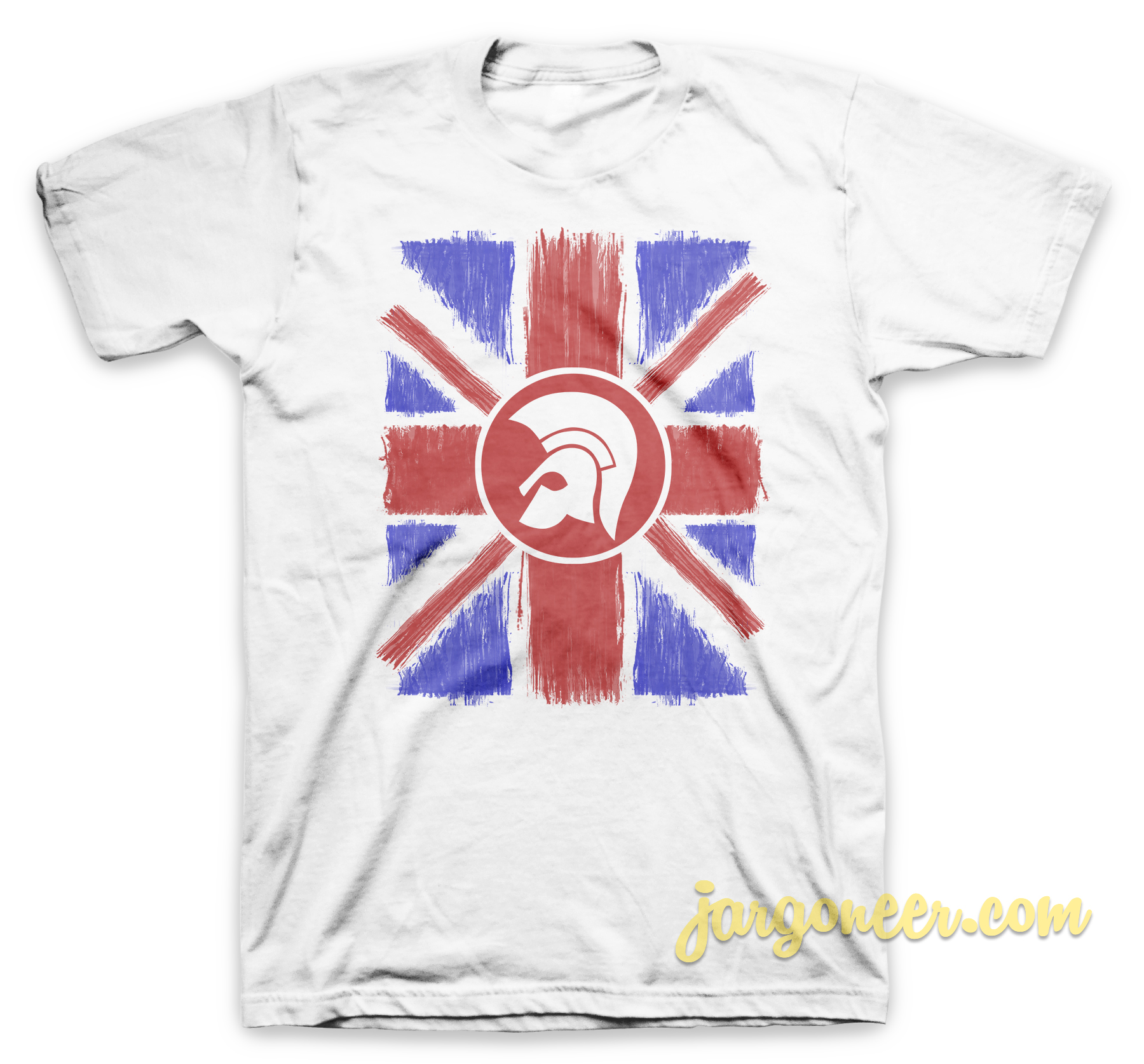 Union Jack Scratch T-Shirt