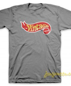 Vintage Custom Gray T-Shirt