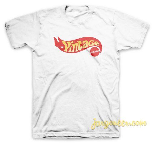 Vintage Logo Custom T Shirt