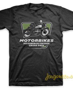 Vintage Grand Prix Black T-Shirt