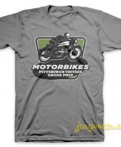 Vintage Grand Prix Gray T-Shirt