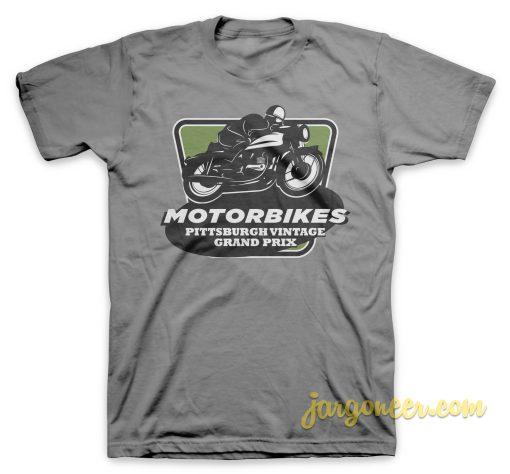Vintage Grand Prix Gray T-Shirt