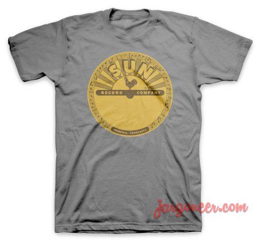 Vinyl Sun T Shirt