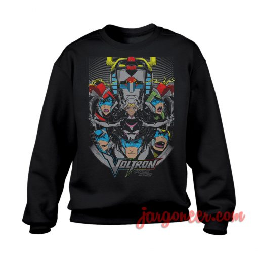 Voltron The Legendary Defender Sweatshirt