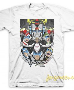 Voltron The Legendary Defender T Shirt