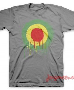 Wet Jamaican Mods Gray T-Shirt