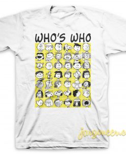 Who's Who White T-Shirt