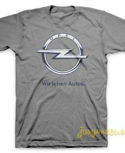 Wir Leben Autos T-Shirt