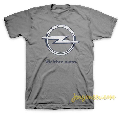 Wir Leben Autos T Shirt