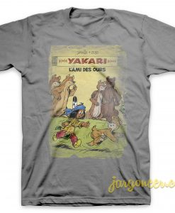 Yakari - The Friend Of Ours Gray T-Shirt