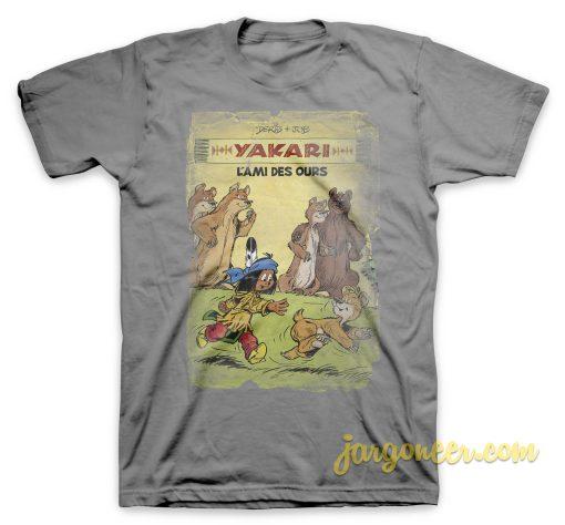 Yakari - The Friend Of Ours Gray T-Shirt