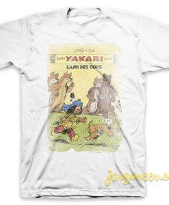 Yakari - The Friend Of Ours White T-Shirt