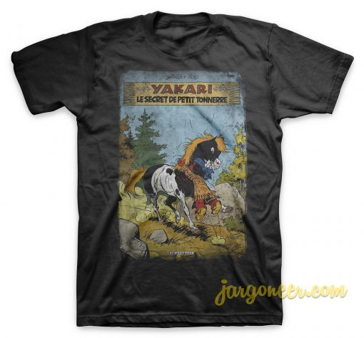 Yakari The Secret Little Thunder T Shirt